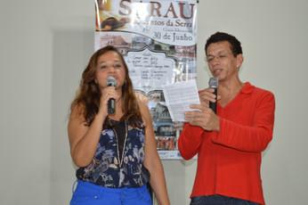 Profa Eliana Carvalho e prof. Adriano Abreu