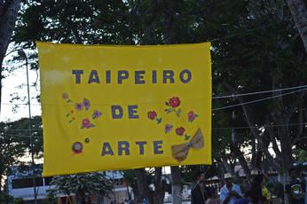 Taipero de Arte. Praça Morena Bela - Serrinha