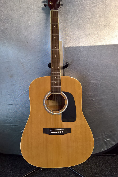 'Natural Gloss' Aria Acoustic Guitar