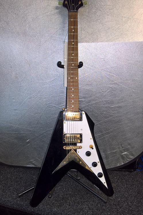 Vintage 'Explorer/Flying V Shape' Electric Guitar
