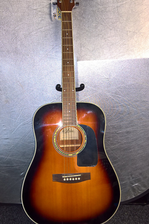 'Sunburst' Aria Acoustic Guitar