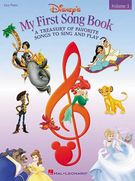 My First Disney Song Book Vol 1