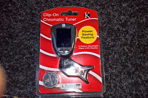 Chromatic Tuner for Guitar, Bass Guitar, Violin & Ukulele