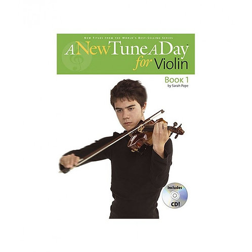 A New Tune a Day for Violin Book 1 includes CD