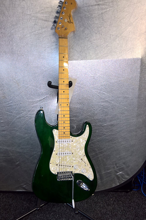 James 'Strat Style' Electric Guitar in Racing Green