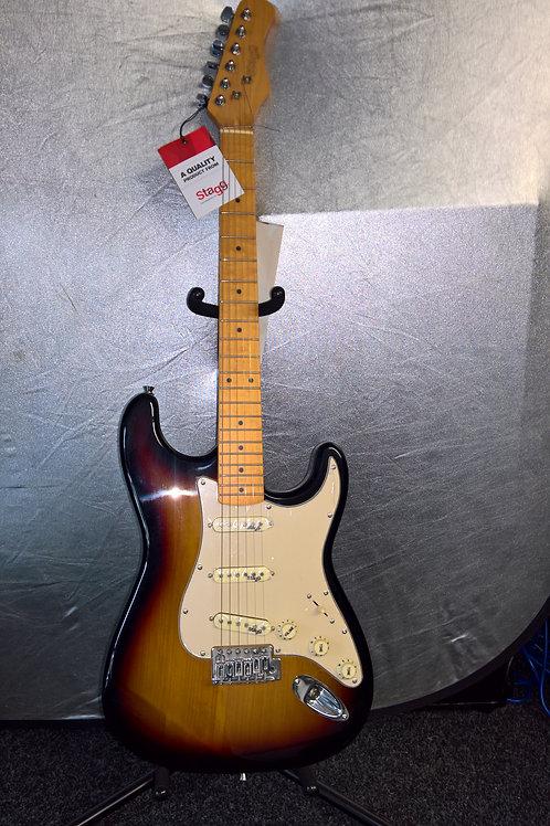 Sunburst Stagg Electric Guitar