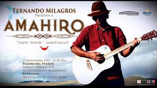 AMAHIRO Live, Teatro del Puente