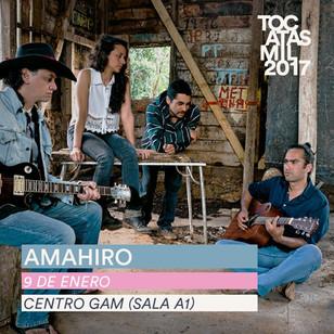 AMAHIRO se presentara en el Centro Cultural Gabriela Mistral, Santiago - Chile