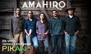 AMAHIRO, Live