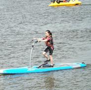 Paddle stepper