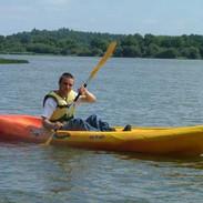 Kayak 1 stellt