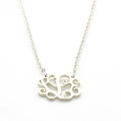 Interlocking Monogram Necklace
