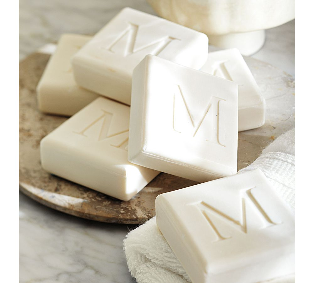 Monogrammed Guest Soaps