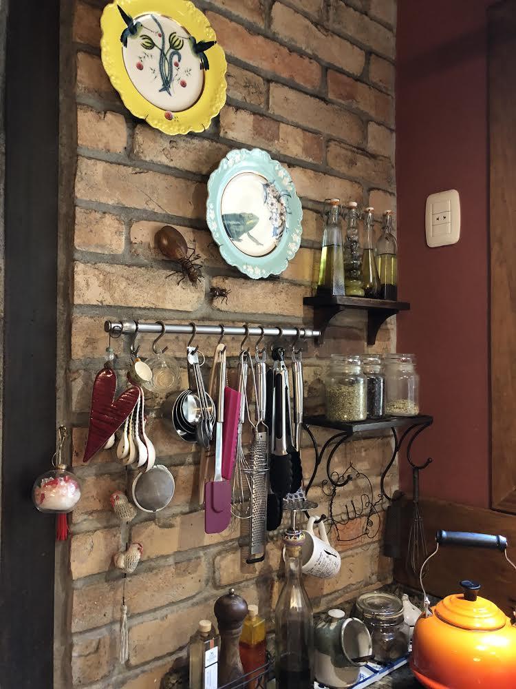 Cozinha e seus pertences lindos