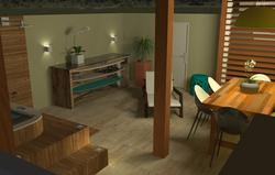 Area externa Casa Litoral