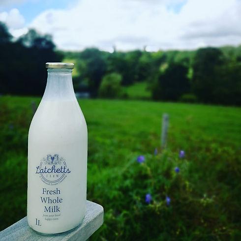 Latchetts Fresh Milk Uckfield