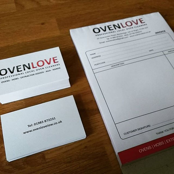 #ovenlove #businesscards #ncrpads #2part