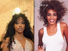 Whitney Houston & Sza Share a Major Accomplishment