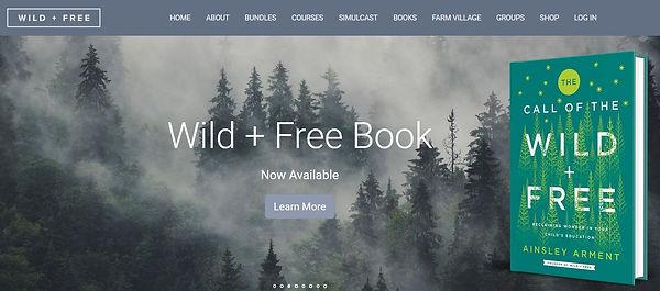 Wild and free website.JPG