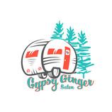 GYPSY GINGER MOBIL SALON LOGO