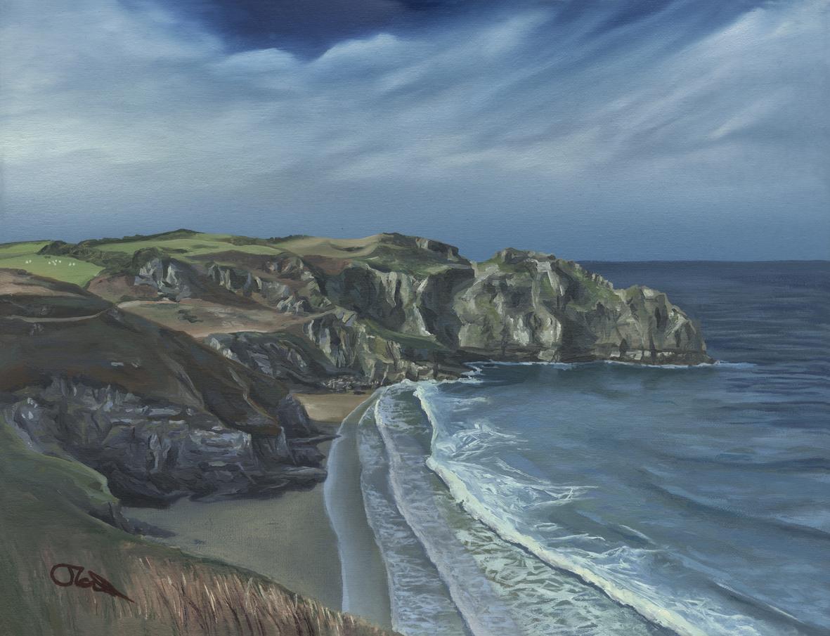 Bossiney Cliffs in Sunshine