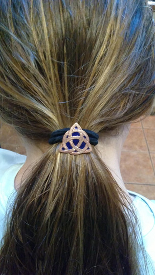 Celtic Knot Hair Jewelry