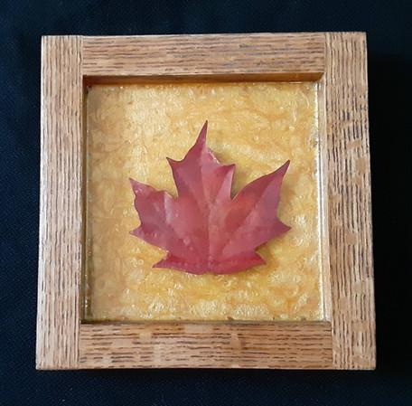 Small Sugar Maple Leaf - $125