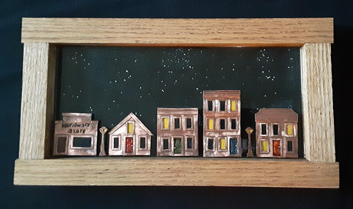 Street Scene - $375