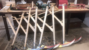 In the Workshop – More Northumbrian scythes for sale!