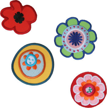 Spring flowers - set