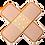 Thumbnail: Band-aid cross