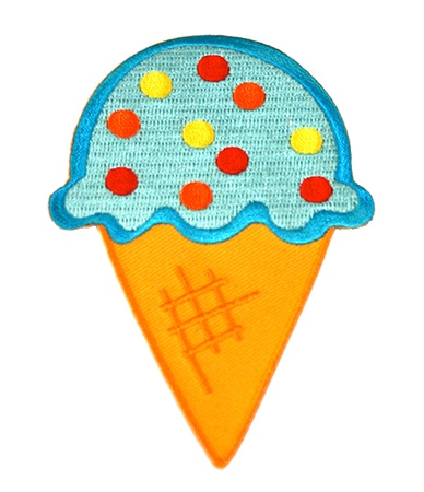 Cornet de crème glacée