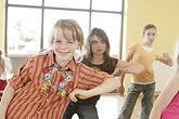 Jugendliche tanzen Mini Clip Dancing