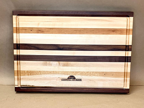 G3 Black Walnut, Cherry, and Maple Long Grain With Juice Groove