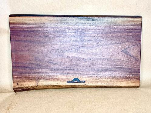 E2 Live Edge Black Walnut Cutting Board/ Serving Tray