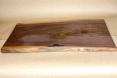 E1 Live Edge Black Walnut Cutting Board/ Serving Tray