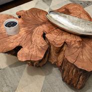 Maple Stump Table