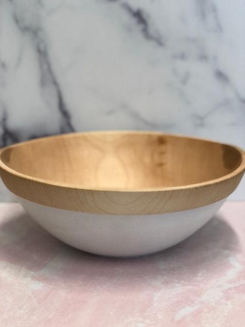 Norway Maple Bowl Scandinavian Style Mark StinsonVessel Company 2021 XIII