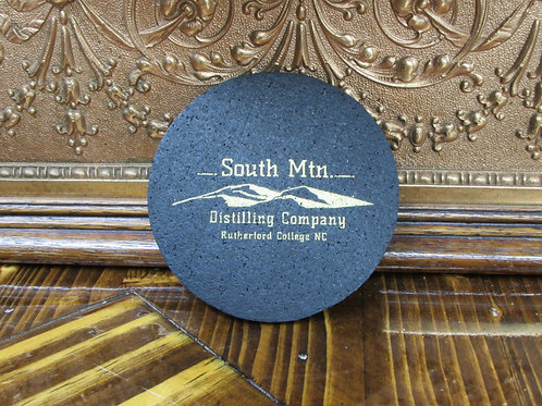South Mountain Distilling Co. Recycled Rubber Coaster