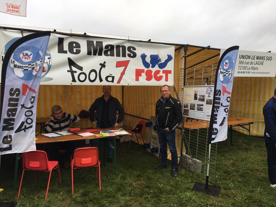 Le Mans Foot à 7