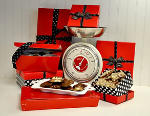 Handmade toffee, millionaires, chocolate, gift ideas
