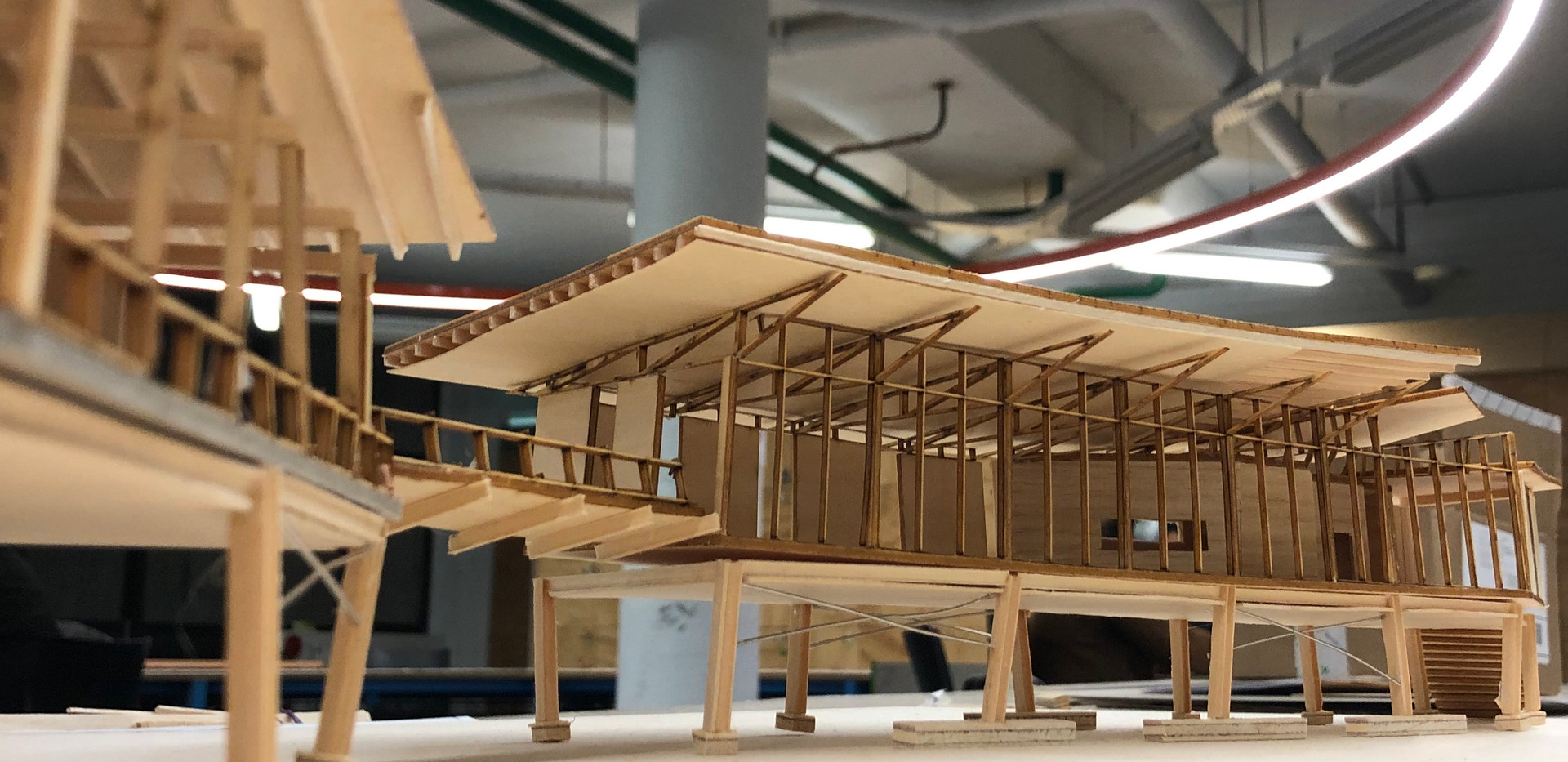 House of Celebration Architectural Model