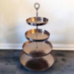 Copper Dessert Display