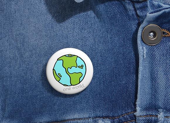 One World Pin