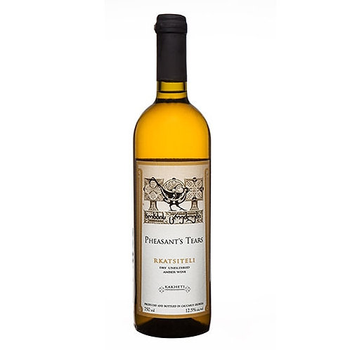 Pheasant's Tears Rkatsiteli Bodbiskhevi 橙酒2017 (750毫升)