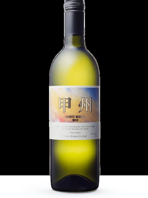 蒼龍葡萄酒株式會社 甲州白酒(750毫升)