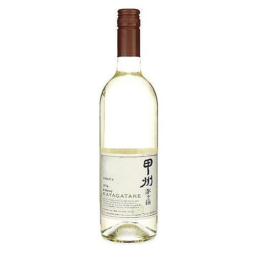 葛蕾絲葡萄酒株式會社茅ヶ岳甲州白酒 (750毫升)