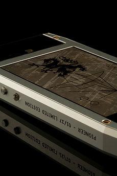 The meteorite of the Grand 350 Pioneer.
