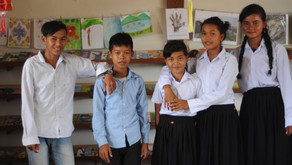 Our first 5 secondary school students!