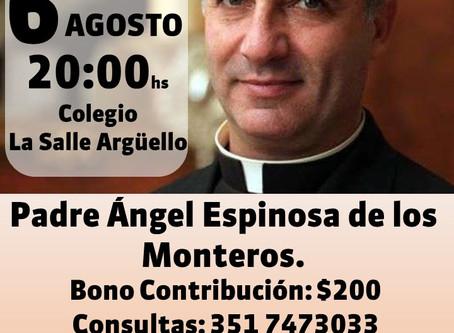 Charla Padre Angel Espinosa